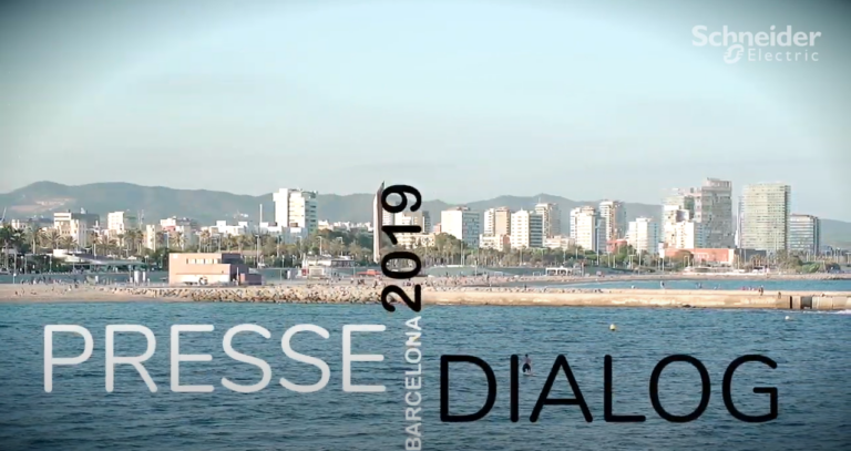 Schneider Electric DACH Presseevent 2019 in Barcelona