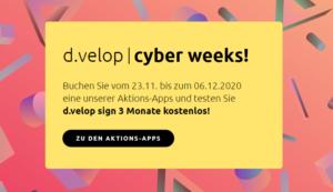 d.velop cyber weeks 2020
